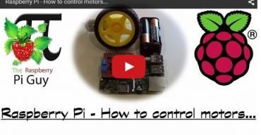How To Control A Motor With Raspberry Pi